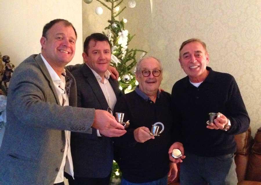 Bobby Ball & John Camilleri - Dalvey Cup Club toast