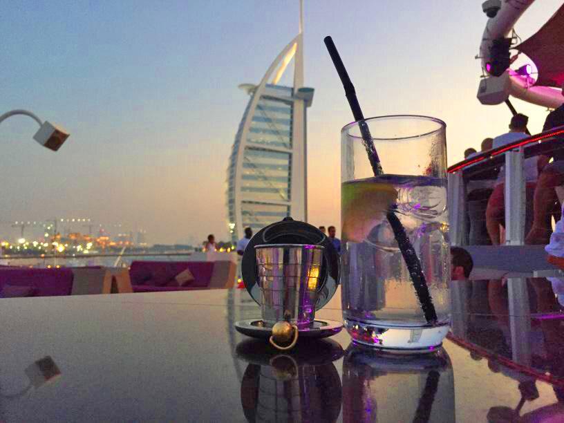 Dalvey Cup Club member's cup in Dubai