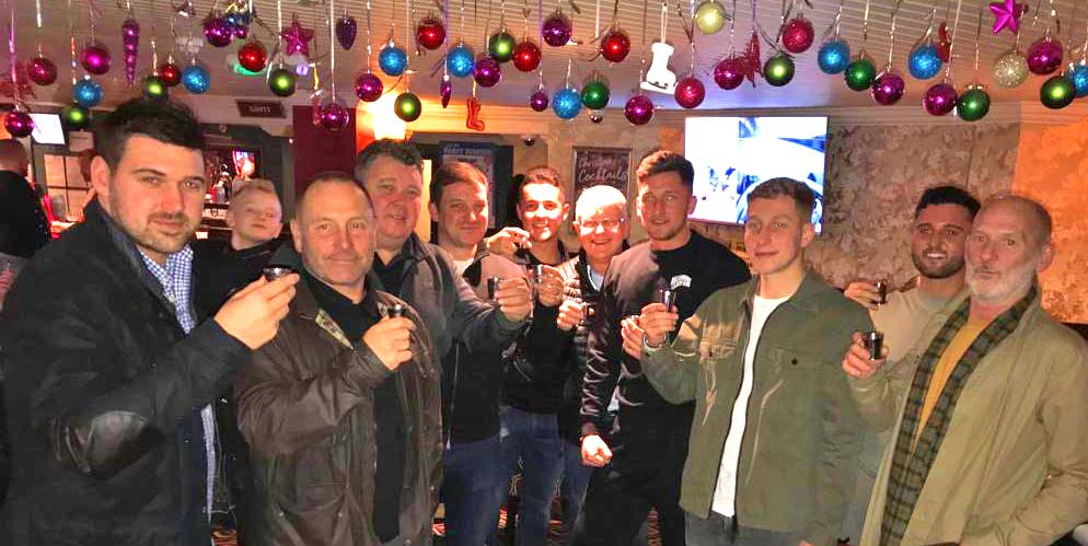Dalvey Cup Club members toast to absent friends