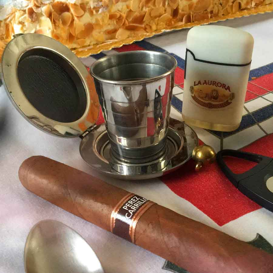 Dalvey Cup & Perez Carrillo cigar