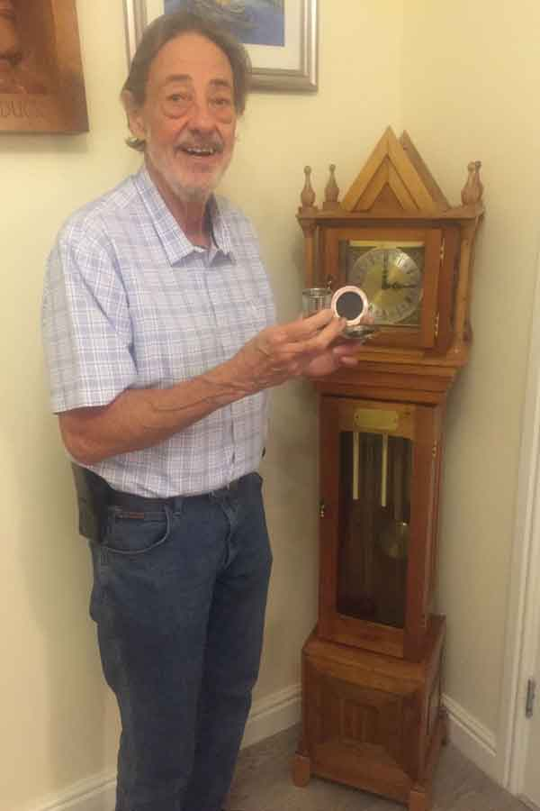 Ian Rigg - former Landlord of the Taps Lytham - Dalvey Cup Club Member