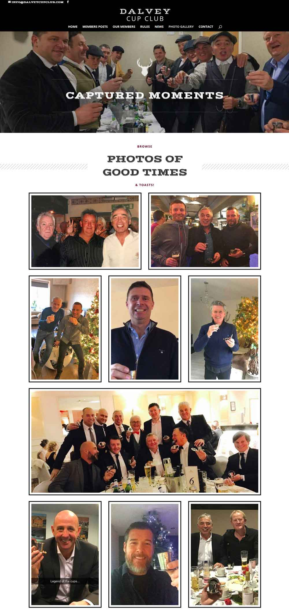 Browse the Members Photo Gallery - Dalvey Cup Club